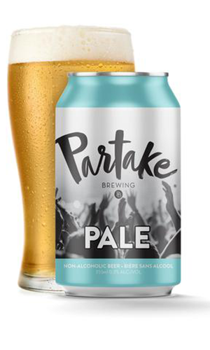 partake brewing pale | non alcoholic drinks