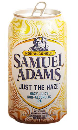 samuel adams just the haze | non alcoholic drinks