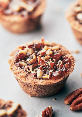 mini pecan pie recipe image | easter recipes