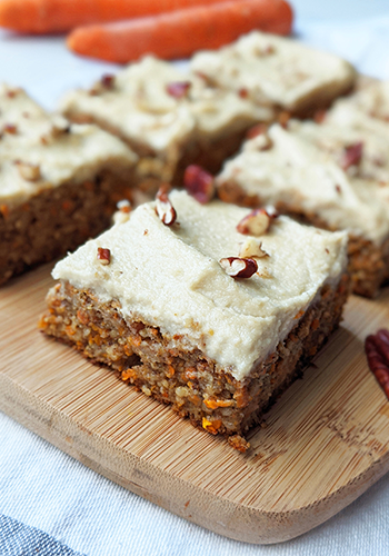vegan carrot cake recipe image | easter recipes