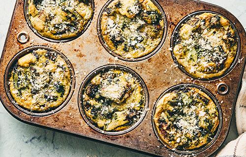 veggie omelet muffins recipe image   easter recipes