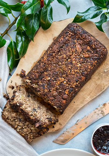 vegan nut roast recipe image | easter recipes