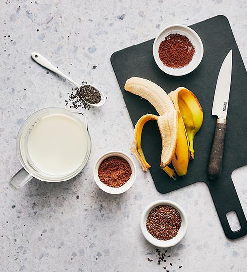 chocolate espresso smoothie ingredients | chocolate espresso smoothie