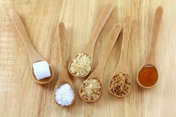 spoons of sugar and honey   benefits of honey