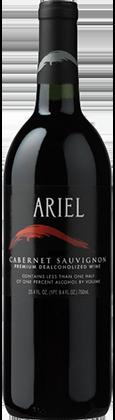 ariel cabernet sauvignon bottle   non alcoholic wine