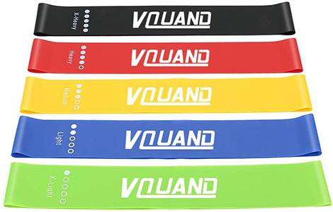 5 set resistance bands | best butt workout tools