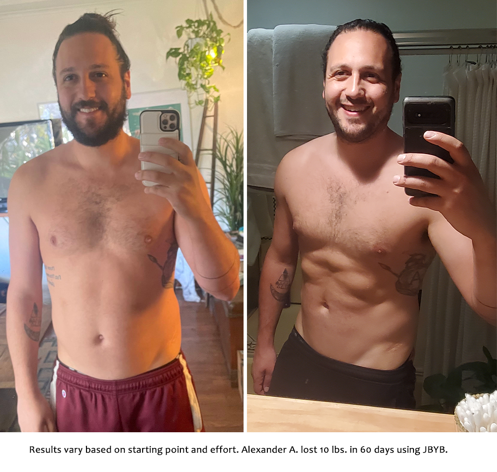 alexander before and after | just bring your body results