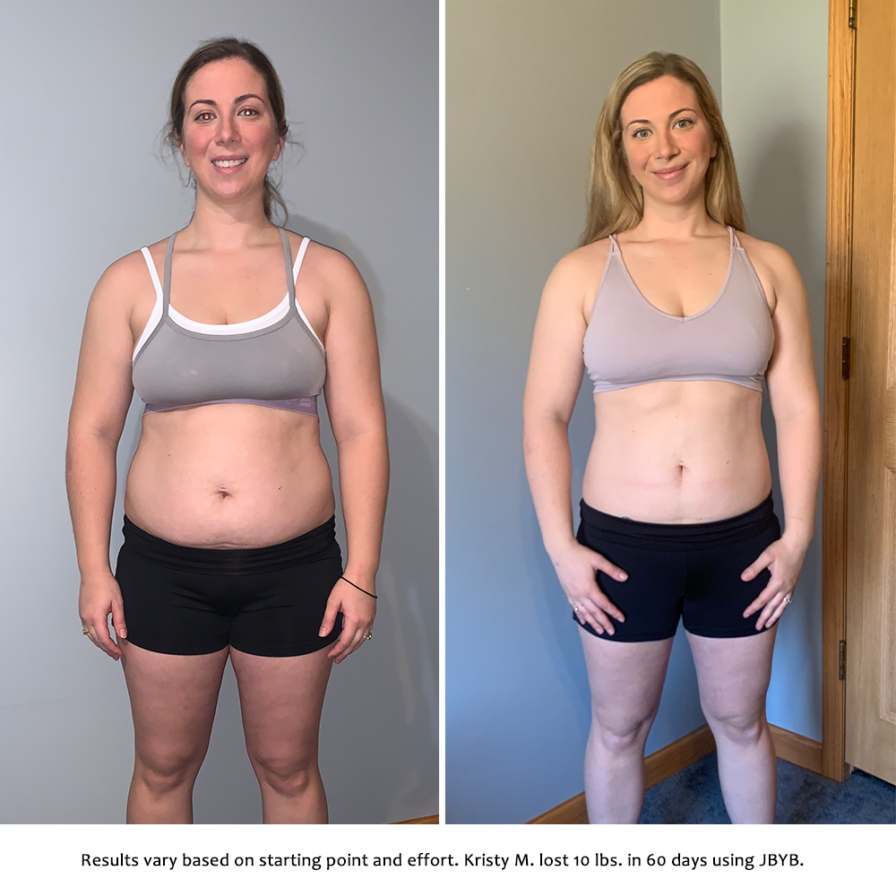 kristy before and after | just bring your body results