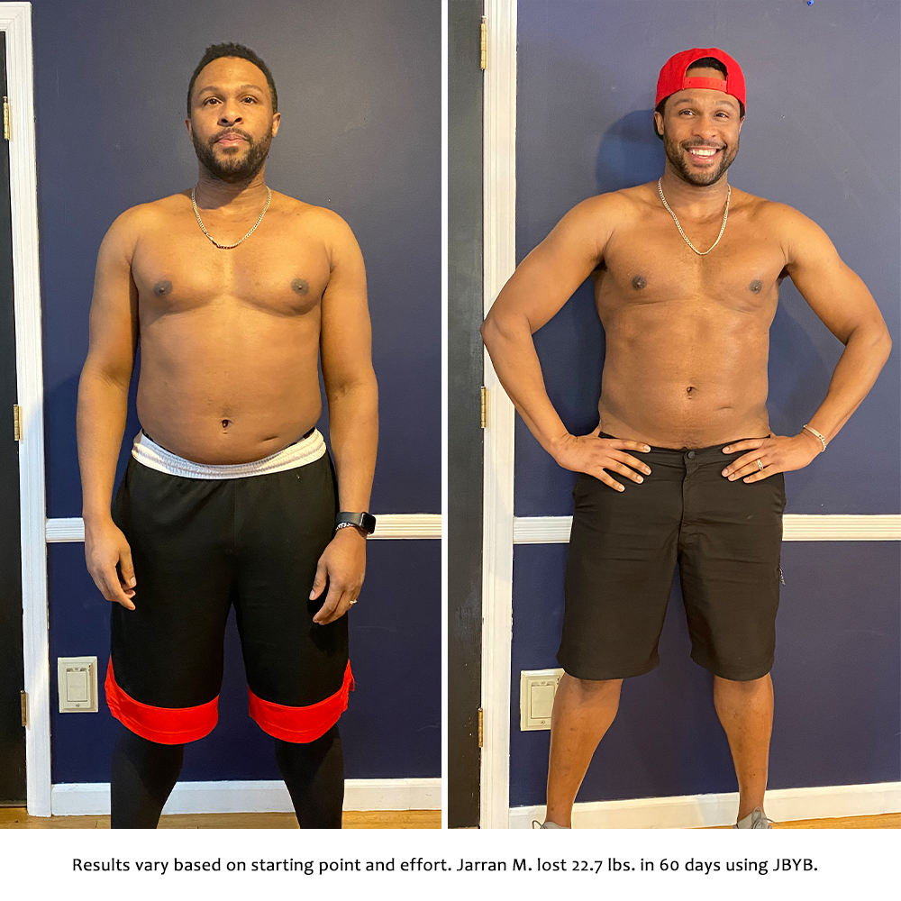 jarran before and after | just bring your body results
