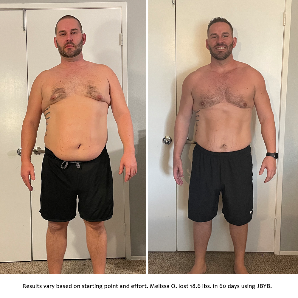 stephen before and after | just bring your body results