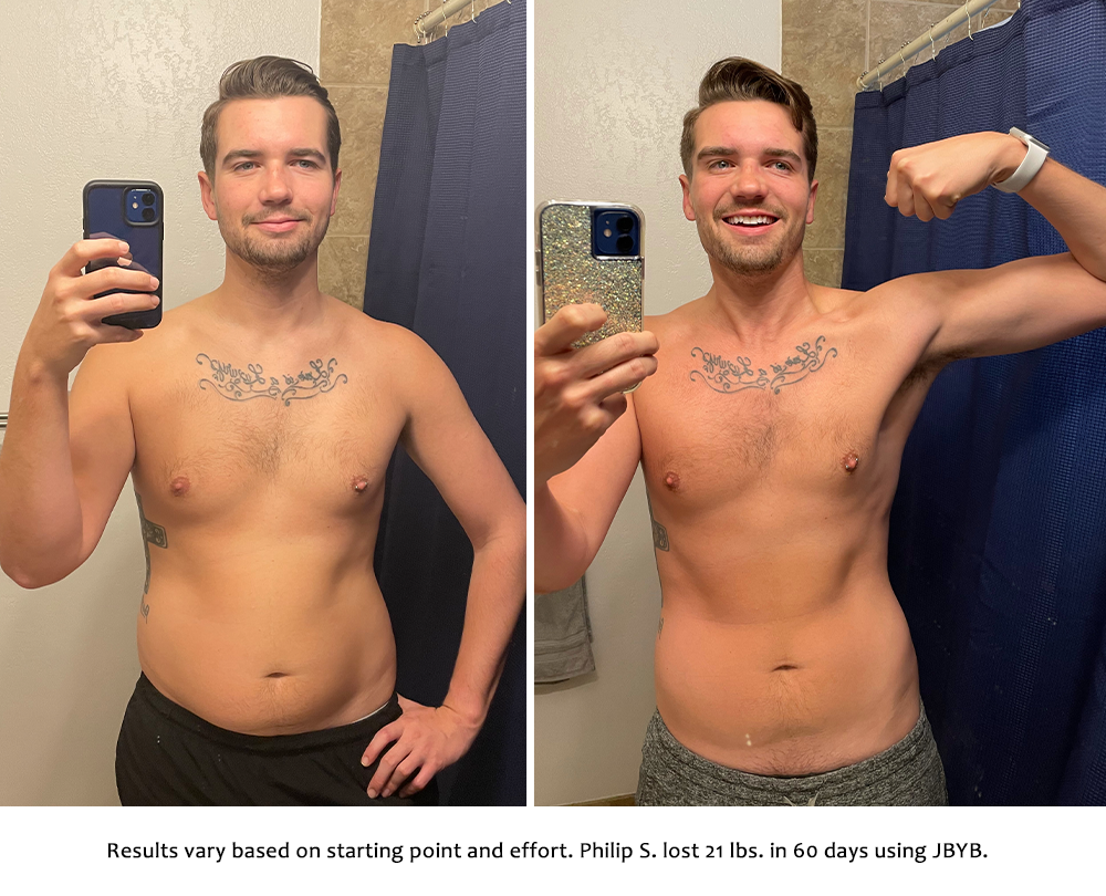 philip before and after | just bring your body results
