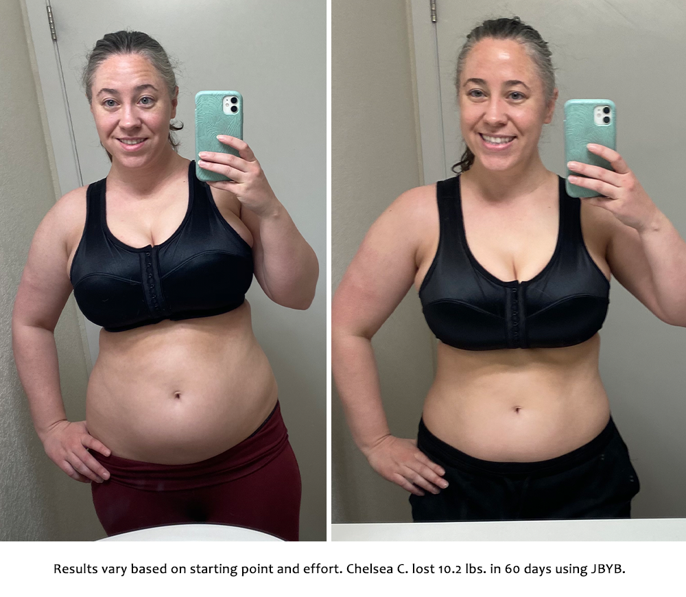 chelsea before and after | just bring your body results