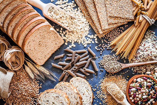 grains rice bread and pasta | quitting sugar