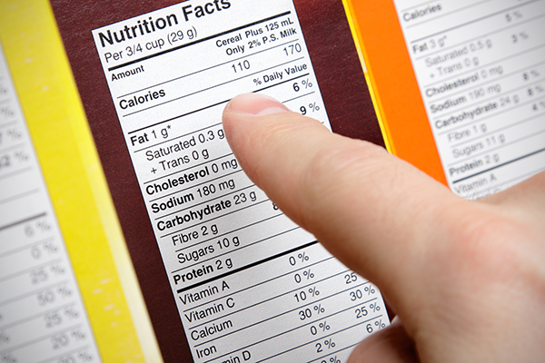 nutrition facts label | quitting sugar
