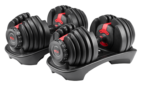 bowflex selecttech adjustable dumbbells | adjustable weight sets