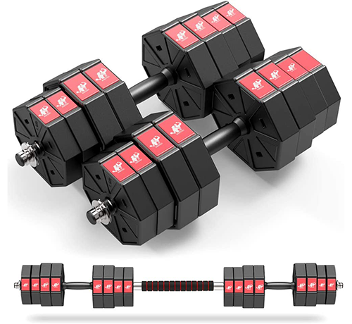 leadnovo adjustable dumbbells | adjustable weight sets
