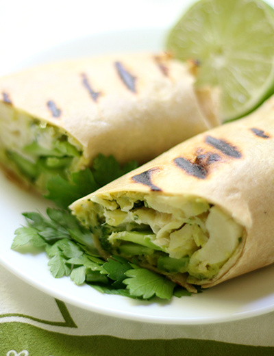 grilled green goddess wraps   healthy blackstone griddle recipes
