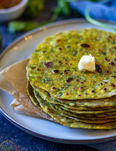 methi thepla   healthy blackstone griddle recipes