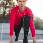 woman stretching before run | how to get started with fitness
