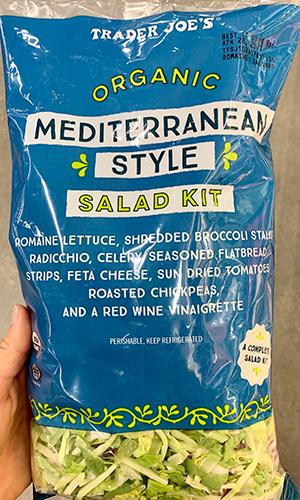 trader joes mediterranean style salad kit | trader joes salads