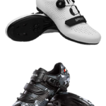 collage of cycling shoes | best indoor cycling shoes