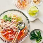 bowls of chicken salad | vietnamese chicken salad