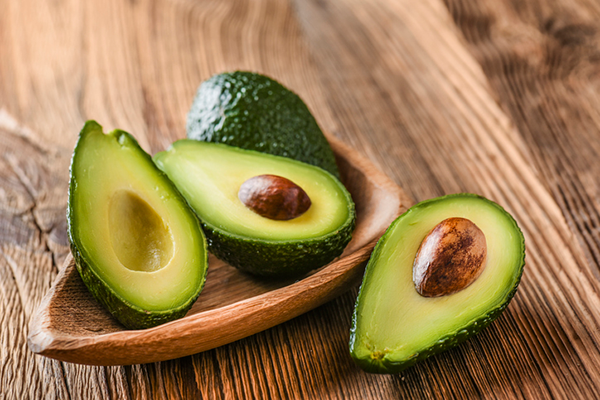 bowl of avocados | how to get enough fiber on a low carb diet