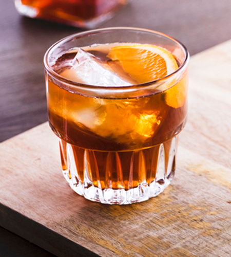cold brew high ball | best non alcoholic drink
