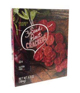 Trader Joe's Beet Crackers