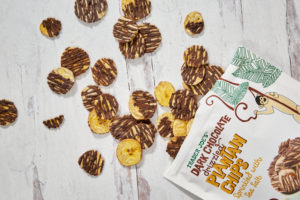 Trader Joe's Chocolate Drizzled Plantain Chips