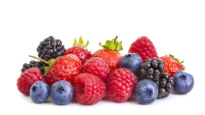 strawberries, raspberries, blueberries, and blackberries--what to eat to lose weight