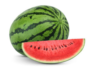 sliced watermelon--what to eat to lose weight