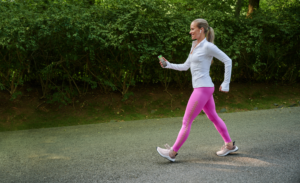 woman using Every Step--avoid exercise injury