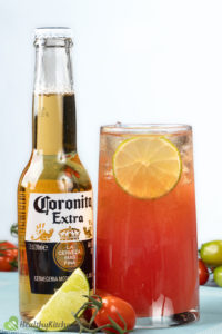 beer and tomato juice--4th of July Drinks