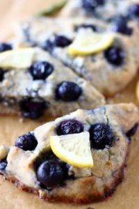 Gluten-Free Lemon Blueberry Scones--4th of July desserts