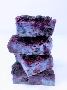 almond berry bliss bars--4th of July desserts