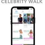 every step celebrity walk phone