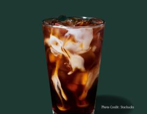 Honey Almondmilk cold brew -- Starbucks summer drinks