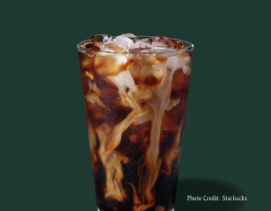Cold Brew Coffee with Milk and Stevia -- Starbucks Summer Drinks