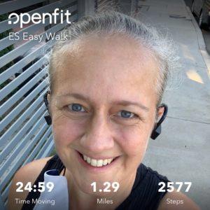 Cricket Myer using Every Step -- every step testimonial marathoner