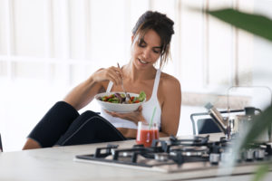 check your diet -- how to prevent exercise burnout