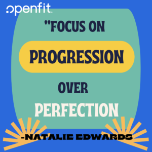 openfit trainer quotes Natalie Edwards