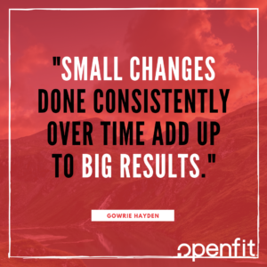 openfit trainer quotes Gowrie Hayden