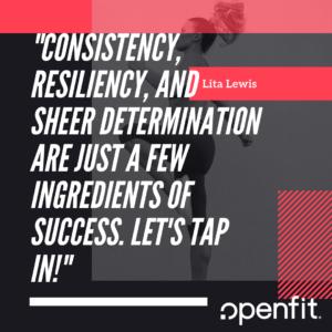 openfit trainer quotes Lita Lewis