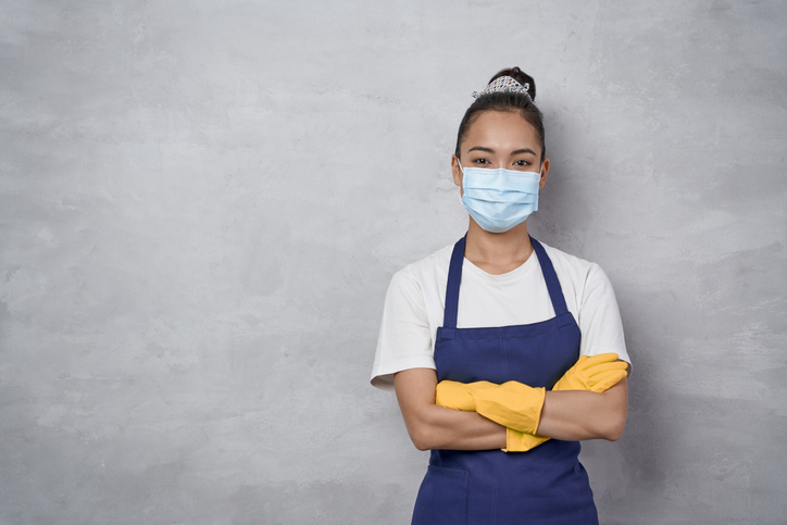 cleaning lady | how to treat yourself