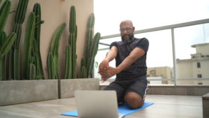 why should I try a stretching class -- openfit live stretching