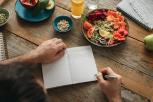 stick to a meal schedule -- How To Stick To Your Nutritional Goals When Traveling