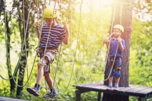 set up an obstacle course -- how to get your kids to exercise