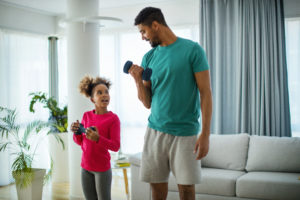 strength training -- how to get your kids to exercise