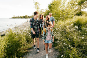 head outdoors -- how to get your kids to exercise